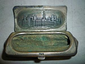 Portmonetka - torebeczka z Columbian Exposition fot.K. Balutowski