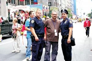 Podczas parady w Nowym Jorku fot.arch.pryw.
