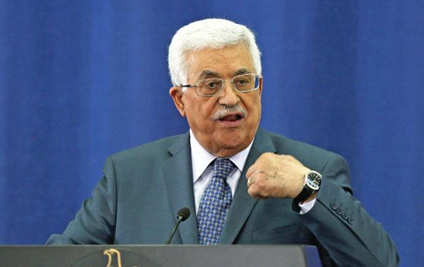 Mahmud Abbas, prezydent Autonomii Palestyńskiej fot.Atef Safadi/PAP/EPA