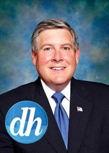 """Kirk Dillard otrzymał oficjalne poparcie od """"Daily Herald"""" fot.Facebook"""