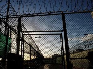 Więzienie w Guantanamo fot.Mandel Ngan/POOL/PAP/EPA