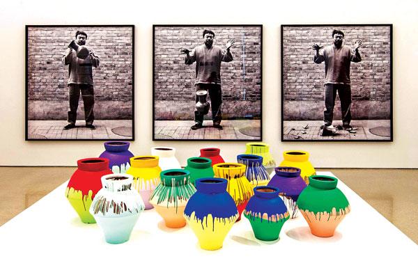 Prace Ai Weiwei w Perez Art Museum w Miami fot.Daniel Azoulay/Perez Art Museum/PAP/EPA