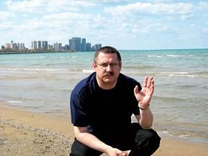 Andrzej Godlewski podczas jednej z wizyt w Chicago fot.arch.pryw.