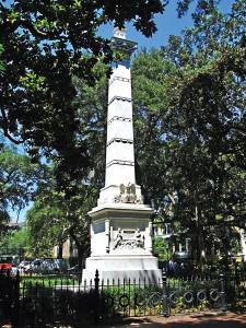 Pomnik Pułaskiego w Savannah (Georgia) fot.Ken Lund/Flickr
