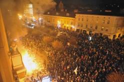 Rash of rebellions across western Ukraine