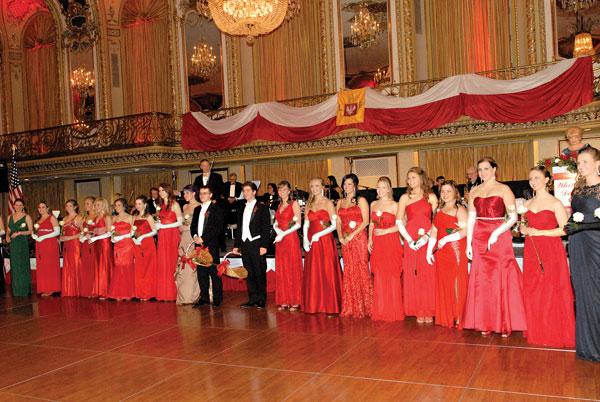 Bal Amarantowy należy do najwytworniejszych imprez towarzyskich chicagowskiej Polonii