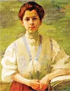 Olga Boznańska fot.Wikipedia