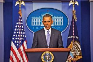 Barack Obama fot.Jim Lo Scalzo/PAP/EPA
