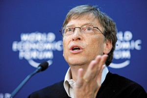 Bill Gates fot.Andy Mettler/Wikipedia
