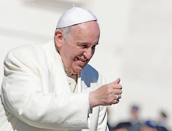 Papież Franciszek fot.Maurizio Brambatti/PAP/EPA