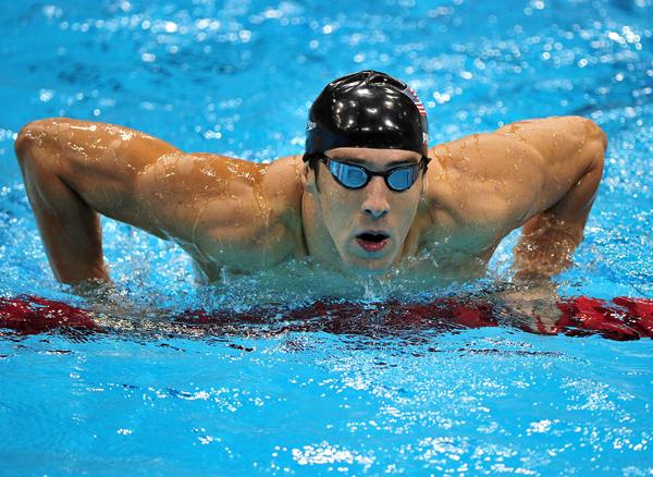 Michael Phelps fot.PAP/EPA
