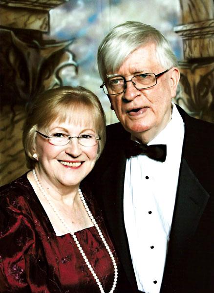Ewa Radwańska z mężem Johnem Cullinanem fot.arch. pryw.