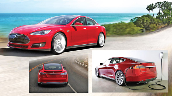 Tesla Model S fot.teslamotors.com