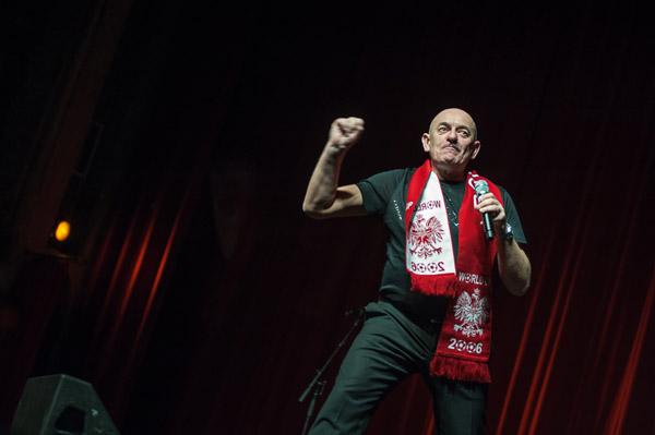 Marcin Daniec kibicuje fot.Dariusz Lachowski