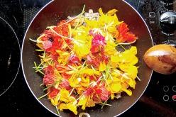 Kwiaty w menu na Wielkanoc i nie tylko