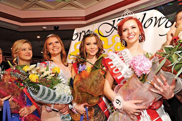 Laureatki tegorocznego konkursu od prawej: Paulina Sołtys, Nicolette Cierpiała, Kasia Kokociński i Sara Wykurz