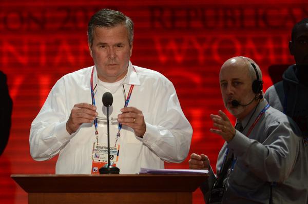 Jeb Bush fot.Shawn Thew/PAP/EPA