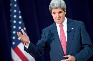 Sekretarz stanu USA John Kerry fot.Shawn Thew/PAP/EPA