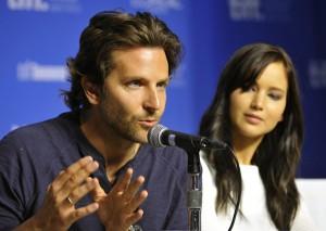 Bradley Cooper i Jennifer Lawrence fot.Warren Toda/PAP/EPA