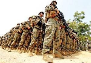 175 marines jedzie do Rumunii fot. Narong Sangnak/PAP/EPA