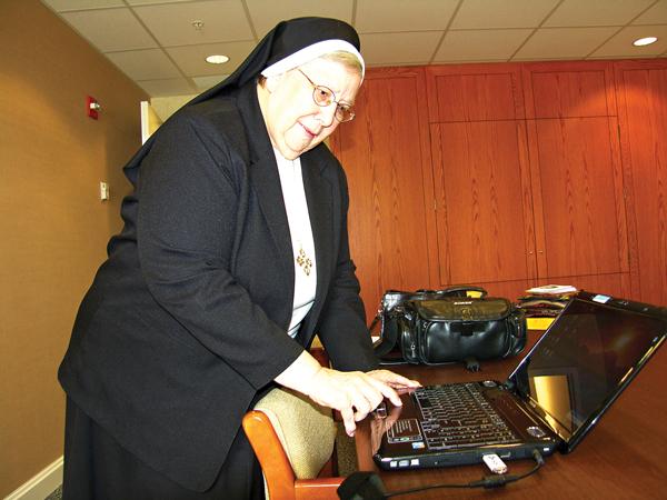 Siostra Stephanie (Stefania) Blaszczynski  fot.Alicja Otap