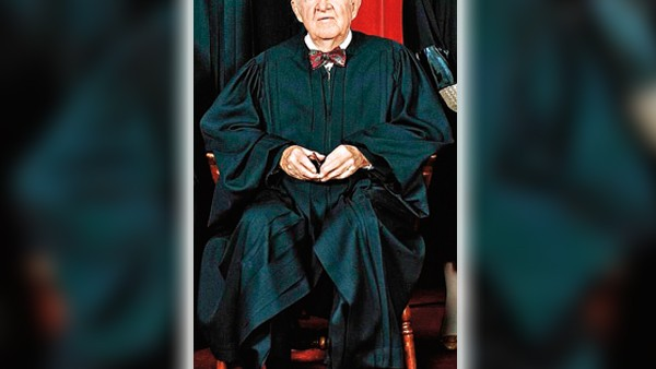 Sędzia John Paul Stevens fot.US Supreme Court/Wikipedia