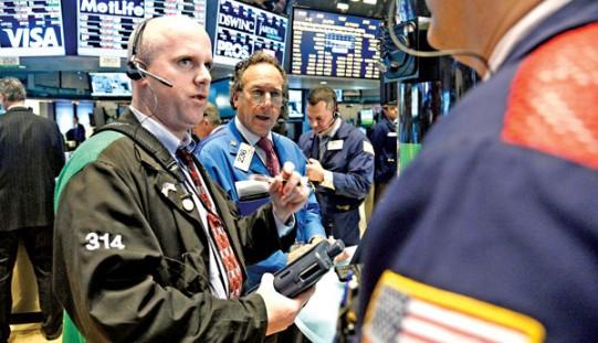Duże spadki na Wall Street