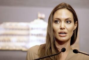 Angelina Jolie fot.NABIL MOUNZER/PAP/EPA