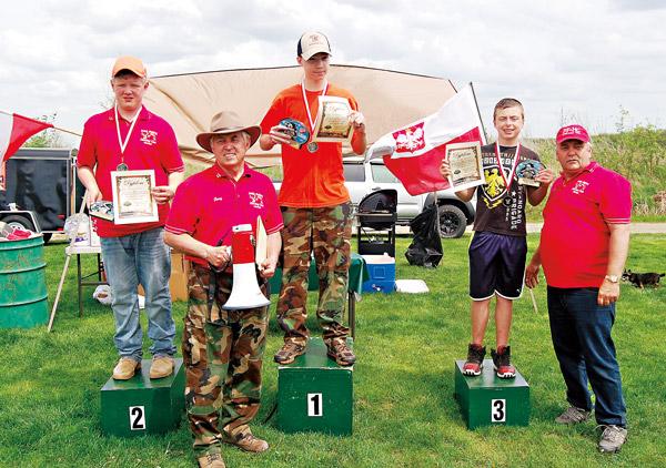 Zwycięzcy klasy junior: 1. Amadeusz Kuczyński, 2. Adam Tyszka, 3. Alex Niebuda
