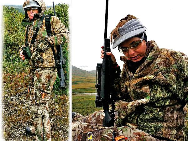 Sarah Palin na polowaniu fot.Sarah Palin Facebook