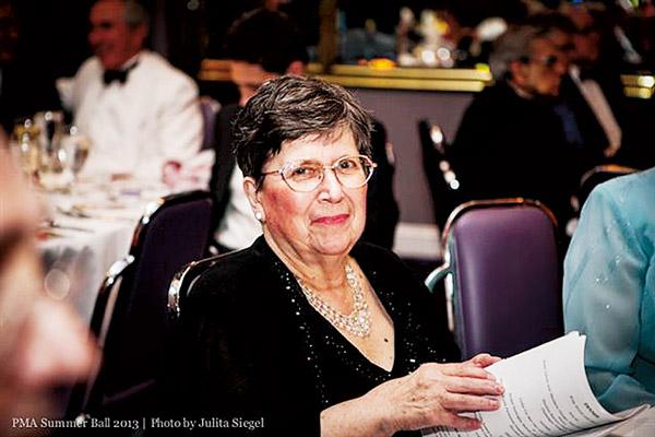 Laureatka Nagrody Ducha Polskości w 2014 roku Joann S. Ozog, na balu w 2013  fot.J. Siegel