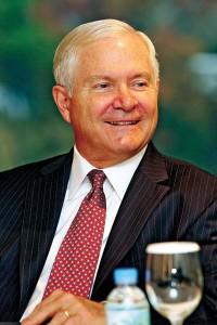 Były sekretarz obrony USA Robert Gates fot.YONHAP NEWS AGENCY/PAP/EPA