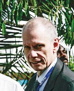 Robert F. Godec, ambasador USA w Kenii fot.Kabir Dhanji/EPA