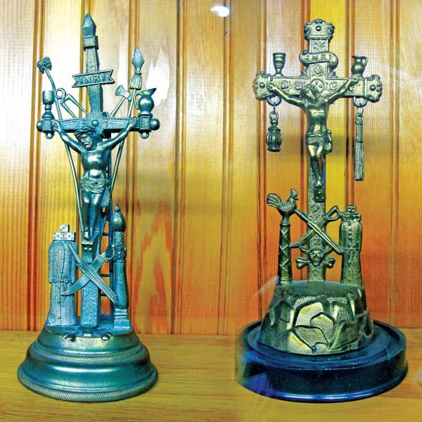 Krzyże z kolekcji Muzeum Polskiego w Ameryce fot.Katarzyna Bałutowska