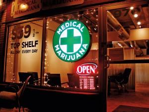 Punkt sprzedaży medycznej marihuany fot.O'Dea/Wikipedia