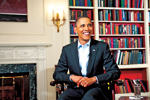 fot.Christopher Dilts/Obama for America