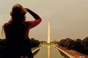 Pomnik Waszyngtona fot.Michael Reynolds/PAP/EPA