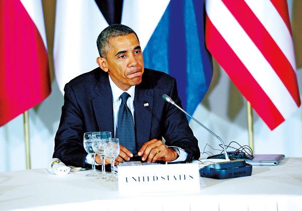 Barack Obama fot.Jacek Turczyk/PAP/EPA