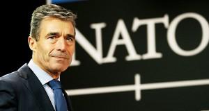 Sekretarz Generalny NATO Anders Fogh Rasmussen fot.Olivier Hoslet/EPA