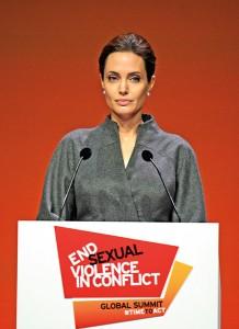 Angelina Jolie fot.Facundo Arrizabalaga/EPA