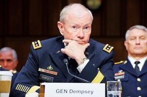 Generał Martin Dempsey fot.Michael Reynolds/EPA