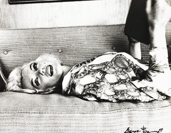 Marilyn Monroe w obiektywie George'a Barrisa, 1962 rok fot.EPA