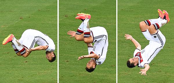 Miroslav Klose fot.EPA/MARCUS BRANDT