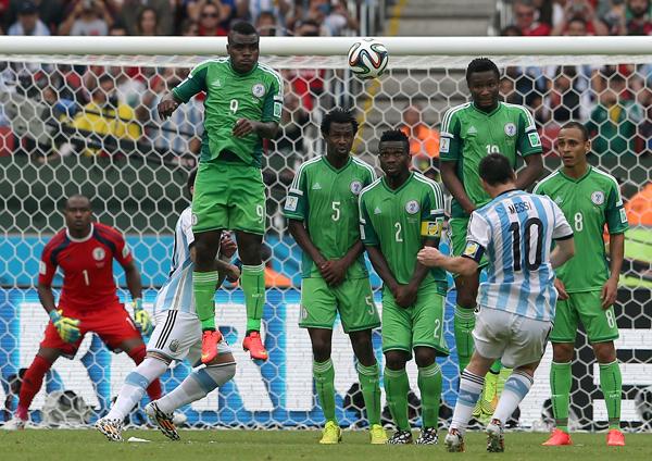 Argentyna - Nigeria fot.EPA/MOHAMED MESSARA