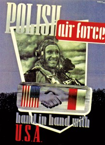 Wojciech Meyer, POLISH air force hand in hand with U.S.A., Londyn, 1944