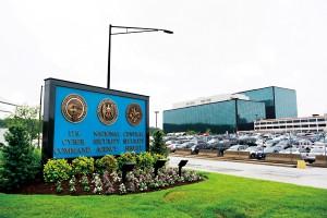 Siedziba NSA w Fort Meade w Maryland fot.Jim Lo Scalzo/EPA