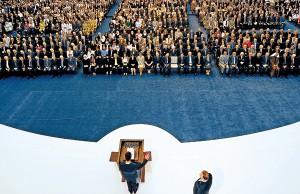 Zaprzysiężenie prezydenta Baszira al-Assada fot.Sana/Handout/EPA
