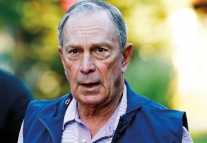 Michael Bloomberg fot.Andrew Gombert/EPA