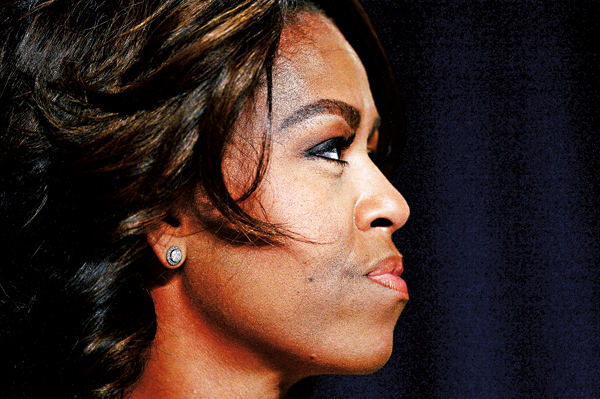 Michelle Obama fot.Olivier Douliery/POOL/EPA