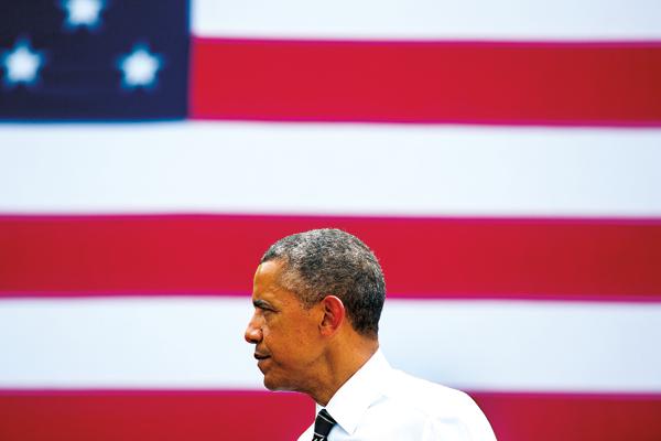 Barack Obama fot.Jim Lo Scalzo/EPA